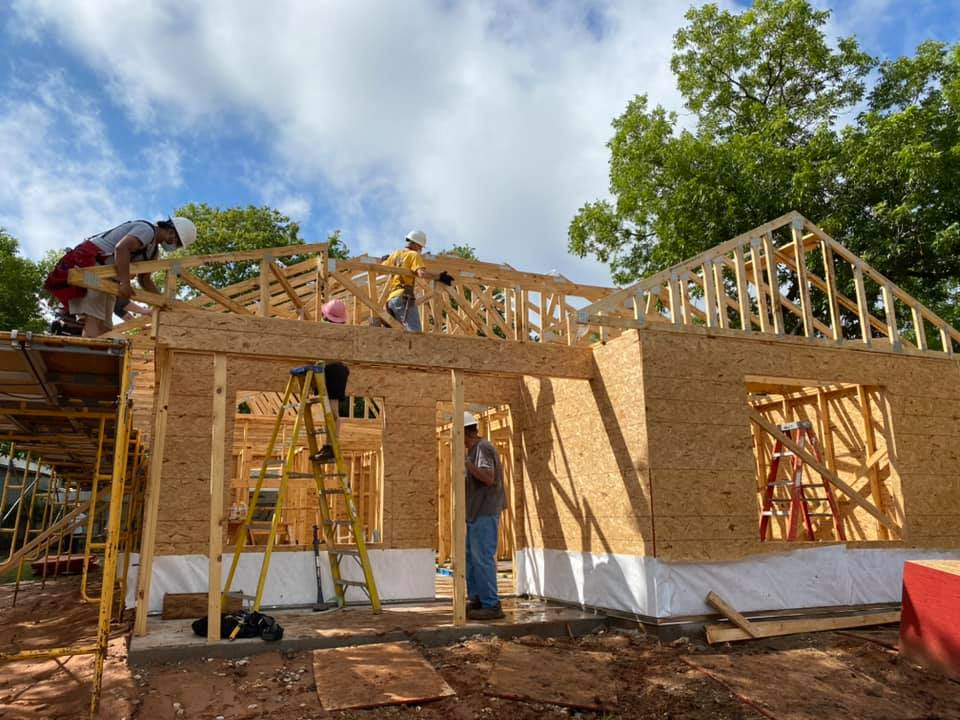 2210 trice ave framing day 2